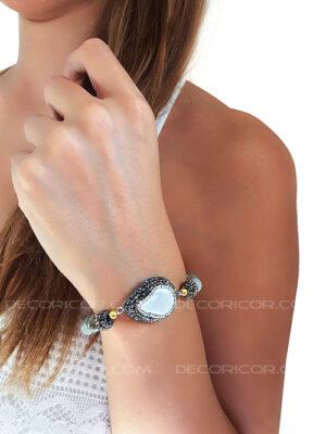 دستبند مروارید پرورشی