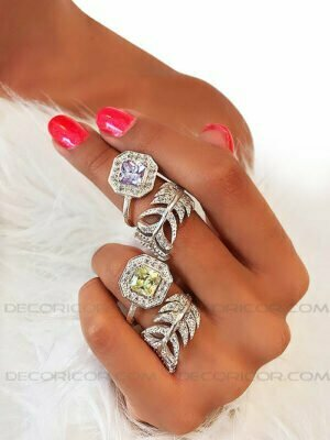 پیشنهاداتی خاص و بینظیر برای حلقه های نامزدی و ازدواج 1