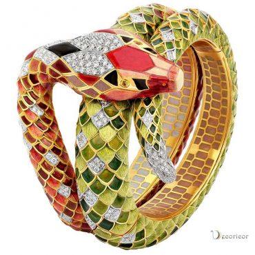 میناکاری در جواهرات نقره