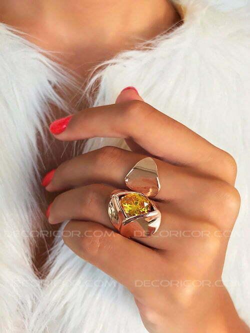 انگشتر گل زرد