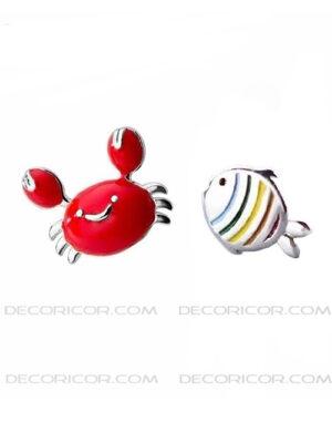 گوشواره نامتقارن ماهی