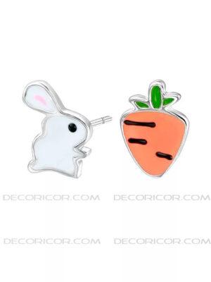 گوشواره نامتقارن خرگوش