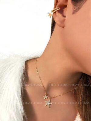 گوشواره کلیپسی ستاره