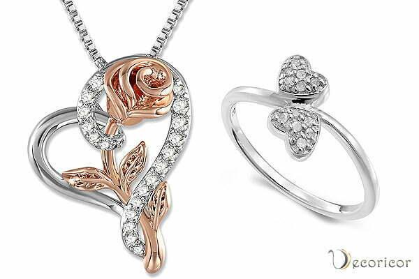 جواهرات قلب